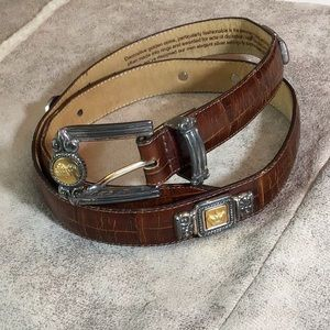 1990's vintage BRIGHTON MUSEUM COLLECTION Belt